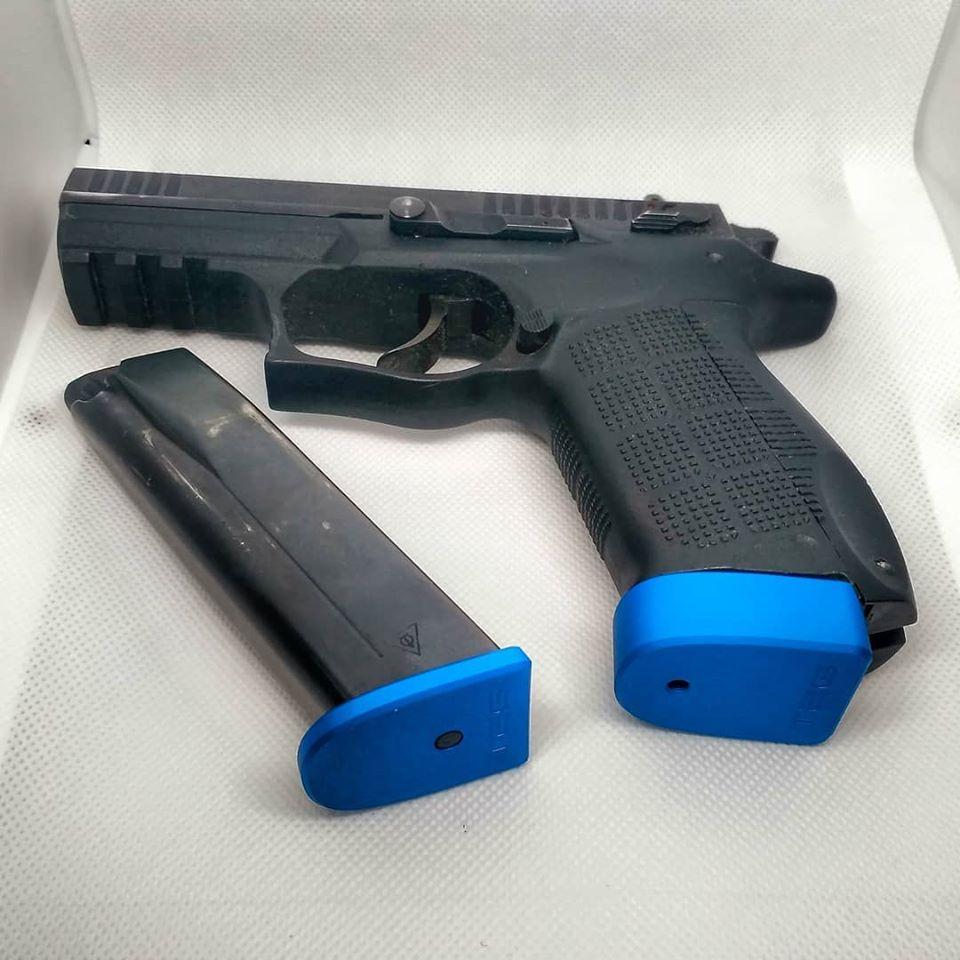TEG MagBase - П'ятки для магазинів пістолетів Форт збільшеної ємності та без збільшення ємності.